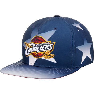 Cleveland Cavaliers Mitchell & Ness Award Ceremony Snapback Adjustable Hat - Navy