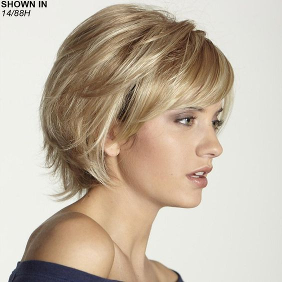 short layered hairstyles for fine hair 2019  bangs with