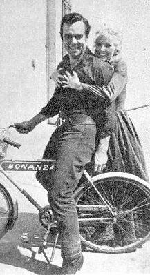 Pernell Roberts & Kathie Browne