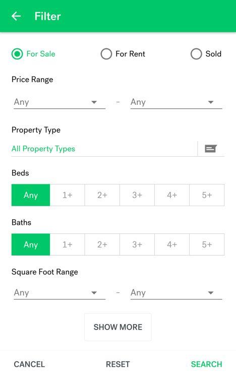 Trulia Real Estate & Rentals   Google Play link