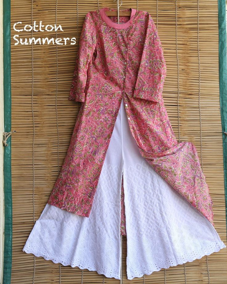 Cool, Crisp, Cotton Summers!!!  #chikankari #chikan #sharara #kalamkari #block #print #kurta #meiraas #springsummercollection #comingsoon