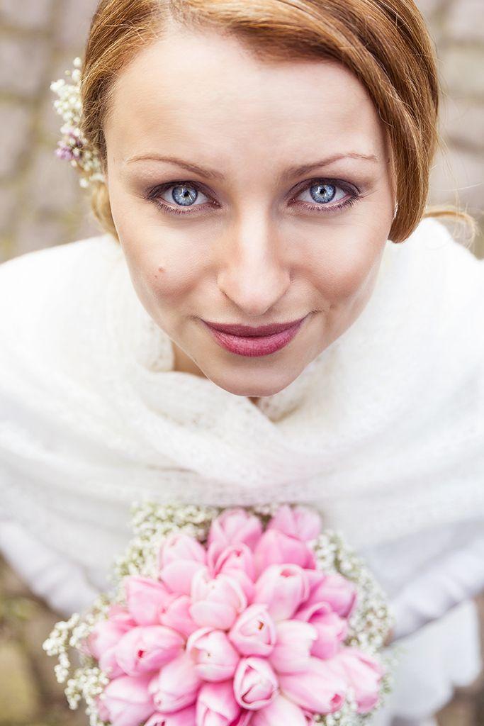 Hochzeit Irina und Andreas Braut Augen Portrait Wedding - Diana Jill Fotografie Fotograf Paderborn Salzkotten
