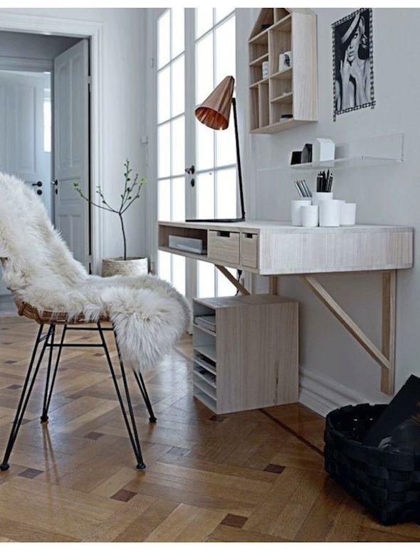 Kleine Keukeneilanden : Wall-Mounted Desk