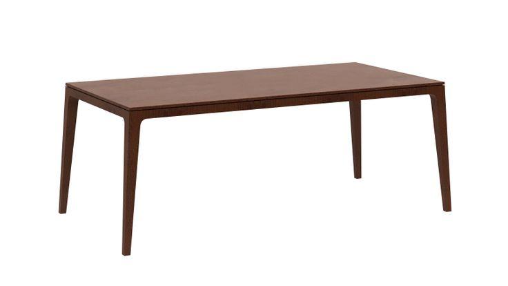 Allegra by Iroko home . Modèle disponible en bois (chêne, noyer et wengé) et en bois laqué (basic ou tendance) Dimension : (H 780| L 1600 | P 800) - (H 780| L 2000 | P 1000) - (H 780| L 2500 | P 1200)
