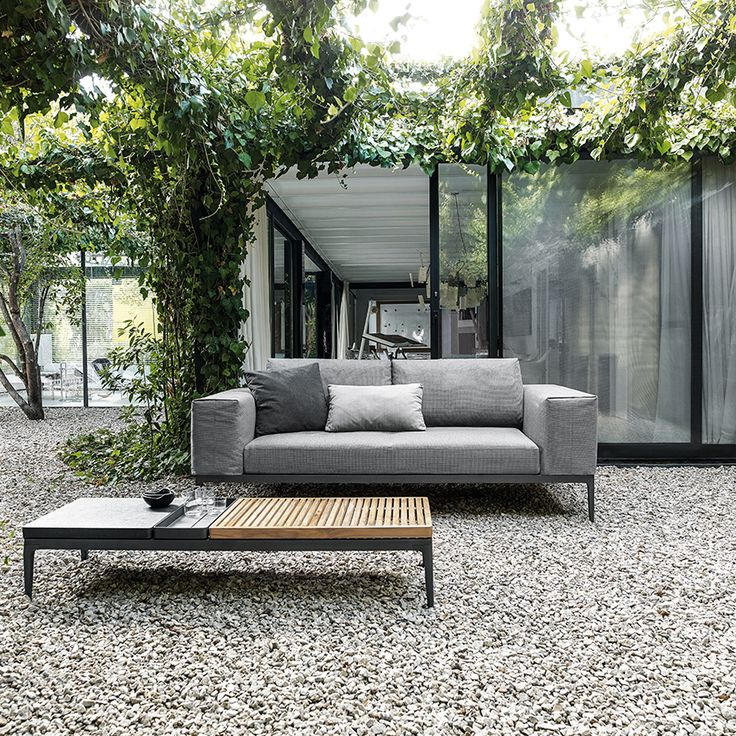 2 of 6: 'Gloster Grid' coffee table, £1,545; 'Gloster Grid' sofa, £3,778