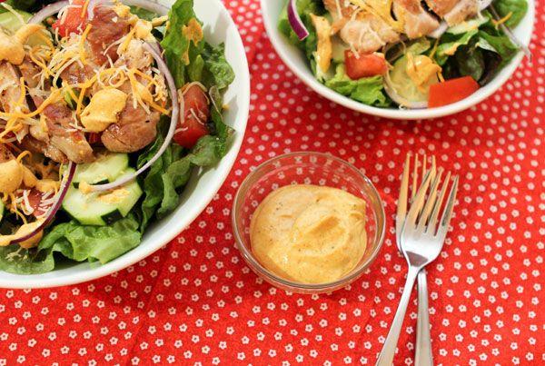 Chicken kitchen creamy curry salad dressing   Recipe
