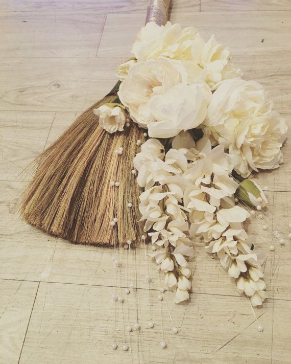 Wedding Broom Jumping Broom African American by PrettyPrintsEtc