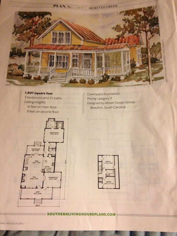 1000 images about plans on pinterest first story bath for Www southernlivinghouseplans com