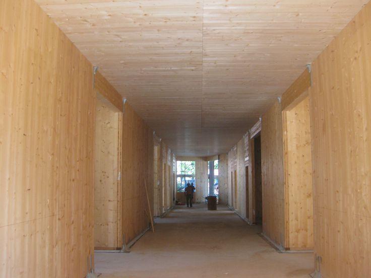 Progetto di costruzione completato della nuova scuola di Montagnana, Padova. Tecnologia Xlam