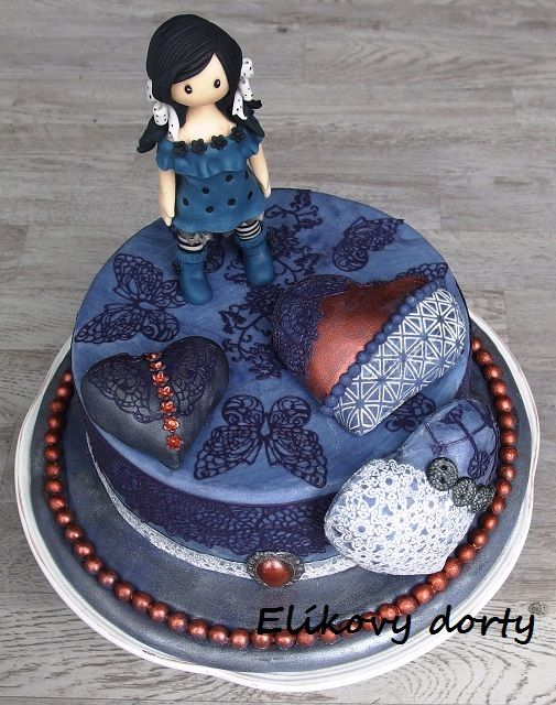 Cake Art By Suzanne : 13 best Cake santoro images on Pinterest Cold porcelain ...