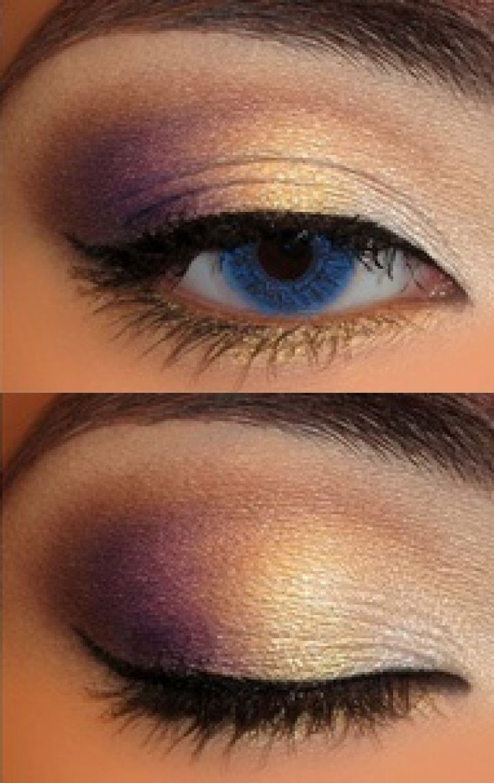 Beautiful eye makeup. A good balance between the heavy eyeshadow and minimal usage of eyeliner #eyes