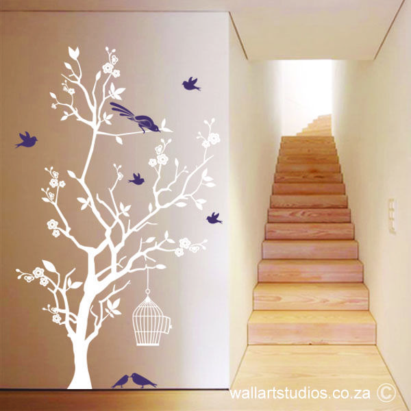 Bird Cage and Blossom tree (WANT104)