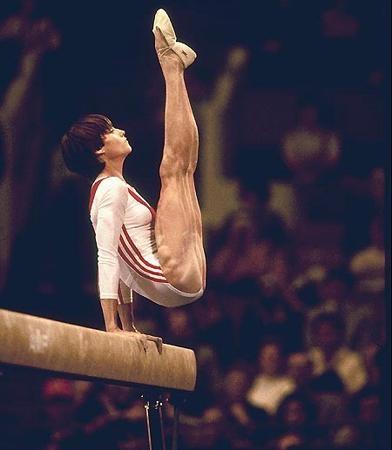 Nadia Comaneci, Gymnastics 1976 Olympics, My Favorite!