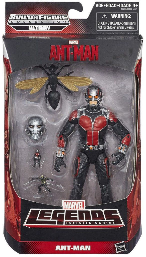 Marvel Legends Ant-Man Action Figures Wave 1 Case BAF Ultron | eBay