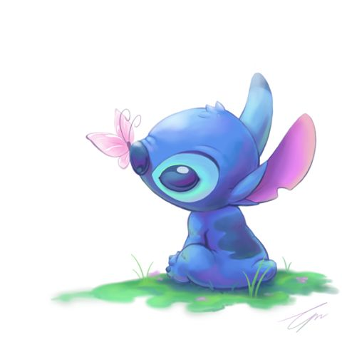 Stitch's spring by takeclaire.deviantart.com on @deviantART