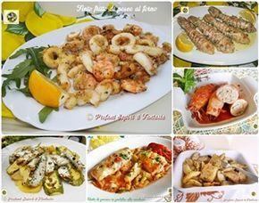 Antipasti di pesce   Canocchie lessate con salsa aromatica   Carpaccio di acciughe   Cozze al limone ricetta di mare