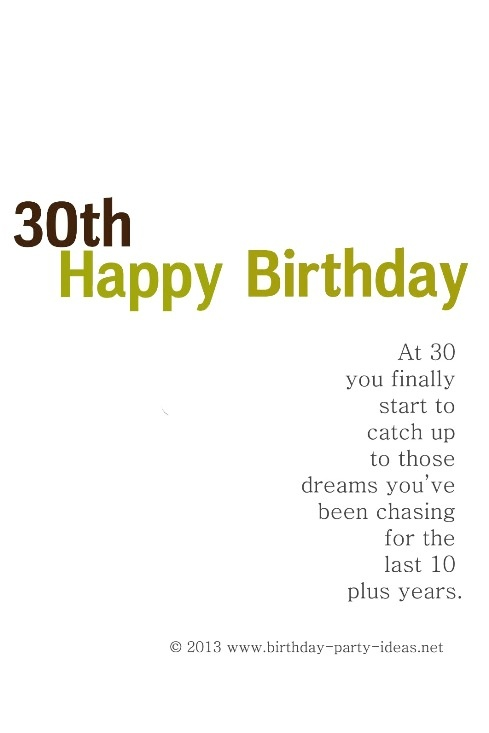 Best 25 30th birthday sayings ideas – Funny 30th Birthday Greetings