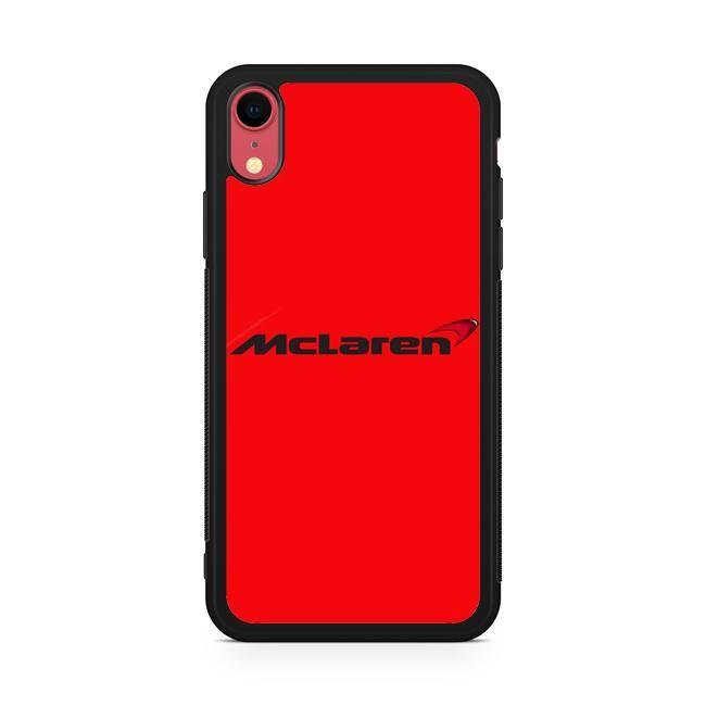 All Red Mclaren Logo iPhone XR Case