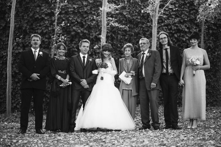 Bride Family Photo