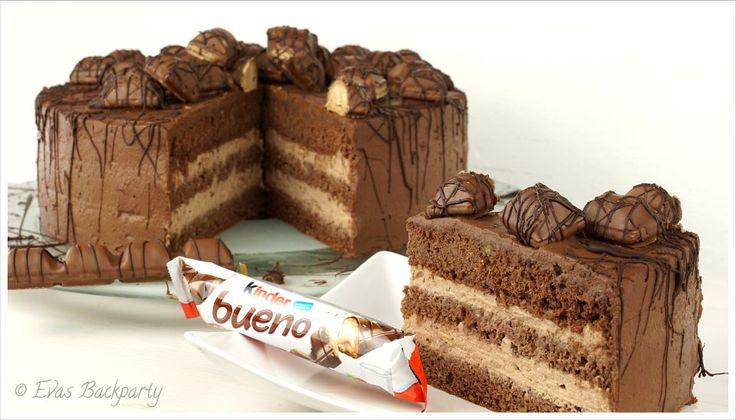 Kinder Bueno Torte - Rezept