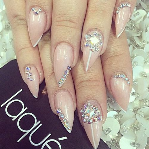 138 best Stiletto and Almond Nails images on Pinterest | Cute nails ...