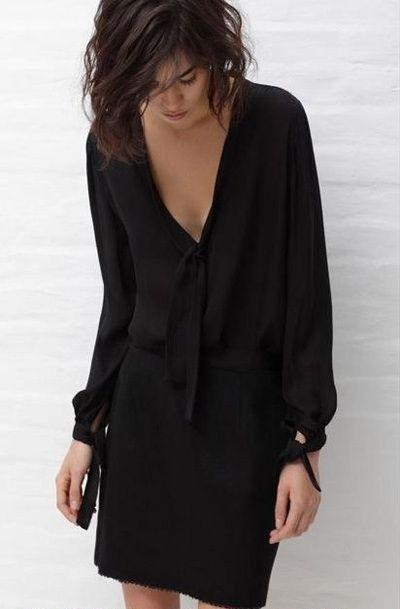Маленькое черное платье: с чем носили, с чем носят, с чем будут носить | Trendy-u.ru