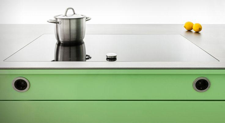 Integration Steckdosen (Popstahl) Küche Pinterest - steckdosen in der küche