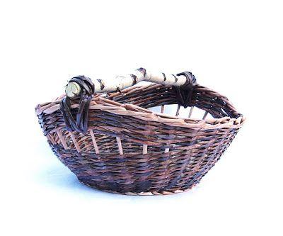 Wyplatanki: kosz z gazety, paper wicker, newspaper basket
