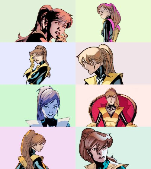 All-New X-Men: Kitty Pryde/Shadowcat. Notice no lockheed. Really miss him in the comics.