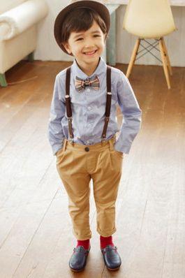 J フォーマルパンツ(ベージュ) - Peach Baby~子供服ファッション
