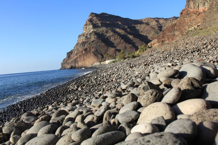 Natural beaches found all over the island! This is Playa de Tasarte