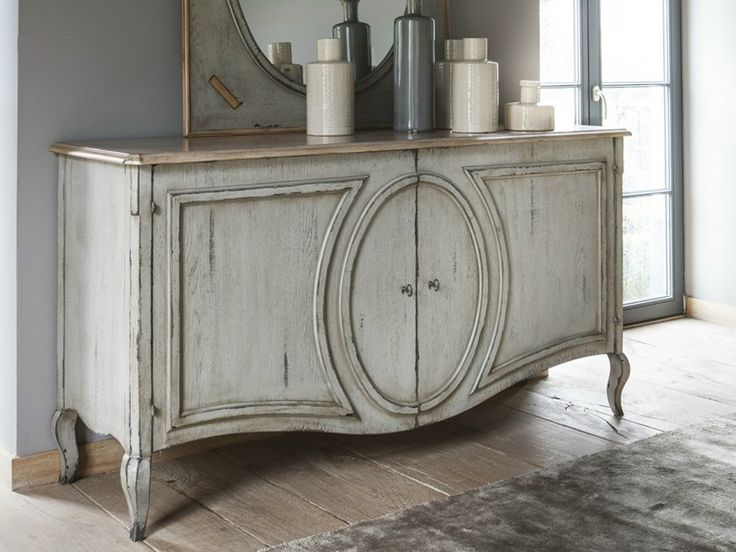 Wooden Sideboard With Doors MÉDAILLON Médaillon Collection By Grange