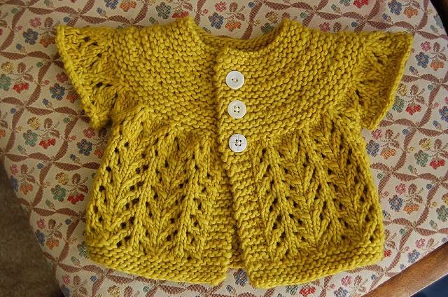 zimmermann's February baby sweater