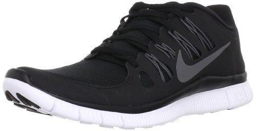Nike Men's Free 5.0 Breathe Running Black / Metallic Dark Grey / White Synthetic Shoe - 10.5 D(M) US