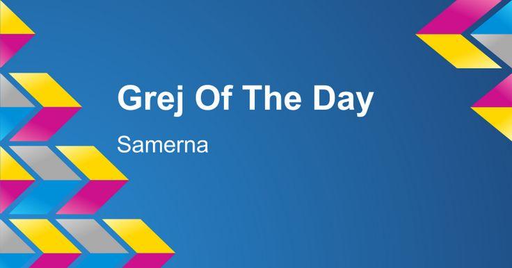 Grej Of The Day.  Samerna. Mini-lesson, The Sampi (translate from Swedish)