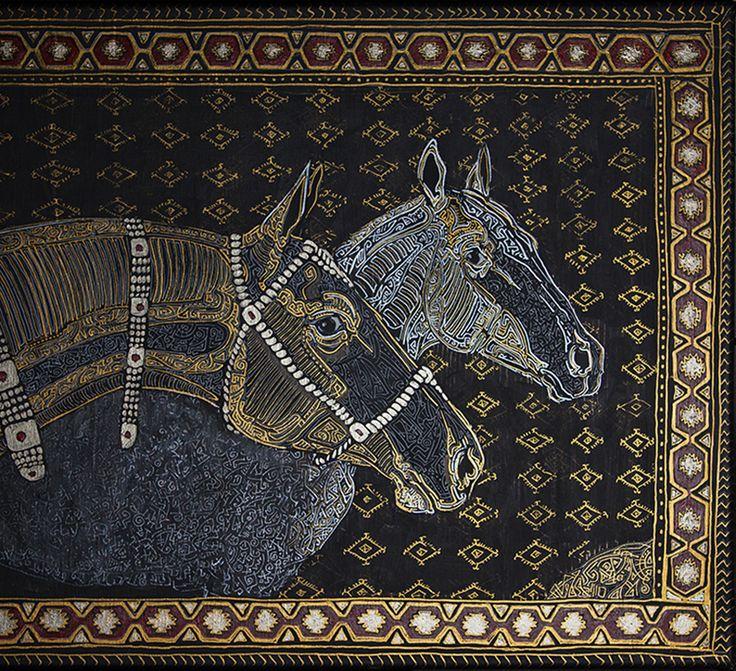"Ознакомьтесь с моим проектом @Behance: «""Turkmen horses""» https://www.behance.net/gallery/54297863/Turkmen-horses"