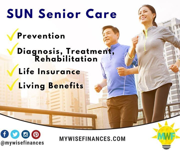 Sun Senior Care A Health Protection Plus Savings Solution