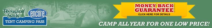 Tent Camping Pass = Discount Camping at Best Campgrounds and Campsites