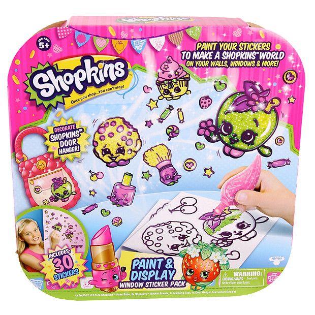 Geleez Shopkins Sticker Activity Pack