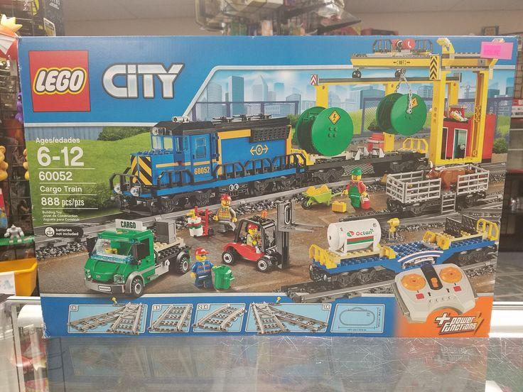 Lego City Cargo Train Set + Power Functions 60052