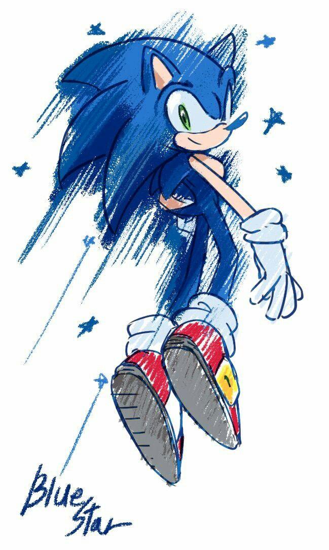 니시보 On Sonic Dibujos Videojuegos Wallpaper Erizo Dibujo