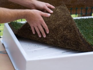 Sod Grass Has no soil