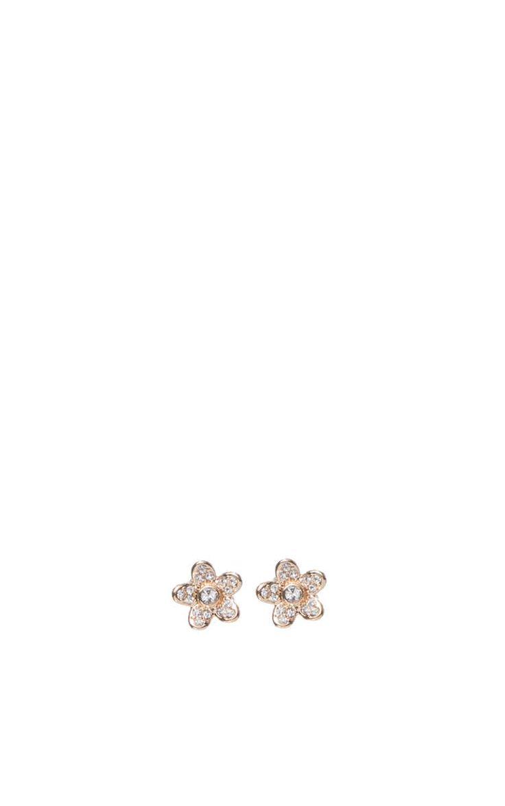 Örhängen Flower CRYSTAL/GOLD - Marc Jacobs - Designers - Raglady
