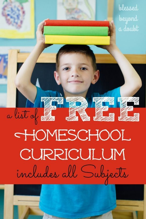 A List of FREE Full Homeschooling Programs Online | Ultimate ...