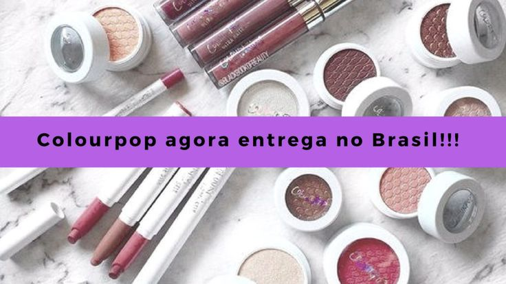 Colourpop passa a permitir entrega no Brasil Meu desejo de consumo foi atendido!! A partir de hoje, o site da Colourpop passa a enviar para o Brasil!! E já começa com promoção boa: envio a U$4.99 até 50 dólares gastos na loja Acima de ... http://dzle.me/2d2Rz5x