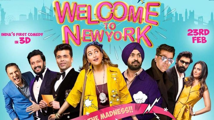 It's Not Just a 3D Comedy, It's a Houseful of Stars Filled with Ultimate Fun.  Click on the below link and read everything you need to know about 'Welcome To New York