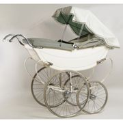 Child's pram supplied by Hepburn Bros, Glasgow and made by Osnath, English, 1960