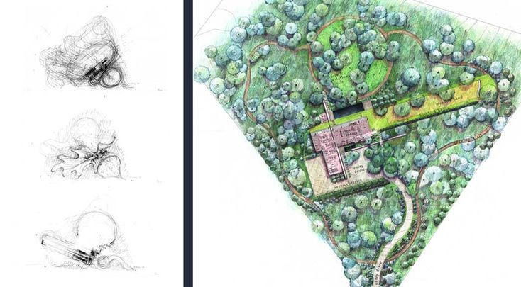 17 best images about plans sections elevations on for Nelson byrd woltz landscape architects