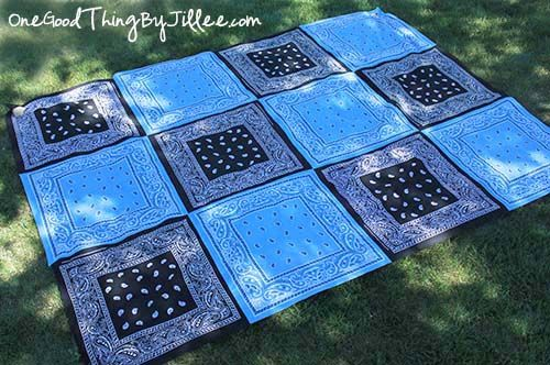 Make your own bandana quilt