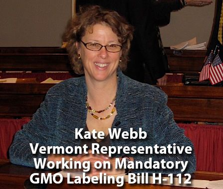 Kate Webb did not flinch when Monsanto threatened to take her to court if her Mandatory GMO Labeling Bill passed in 2012.  Instead she reintroduced the bill again after bringing it to Vermont's top law school for review.  Conclusion.  Vermont could win. The new 2013 Vermont H.112 has only to pass the House Judicial Committee!  Listen to our Smart Health Talk interview with Kate, and find out what it takes to pass Mandatory GMO labeling in Vermont.  A state that's already faced Monsanto and…